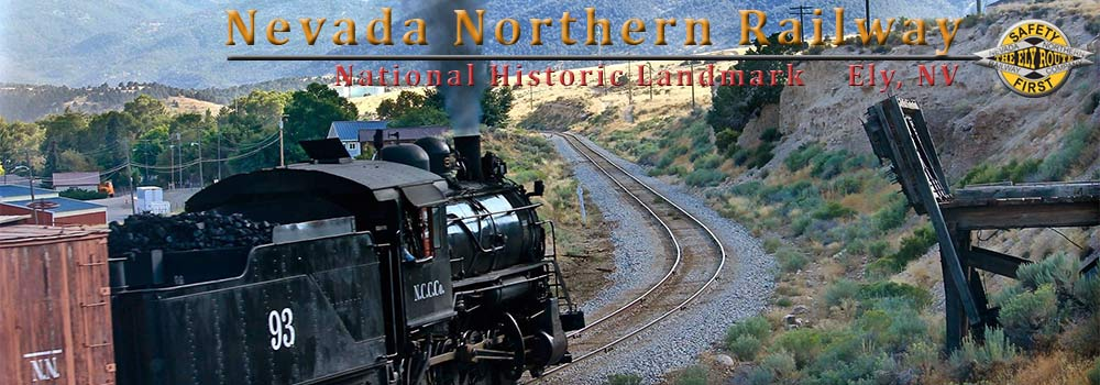 Nevada Northern Railway Museum Historic train ride