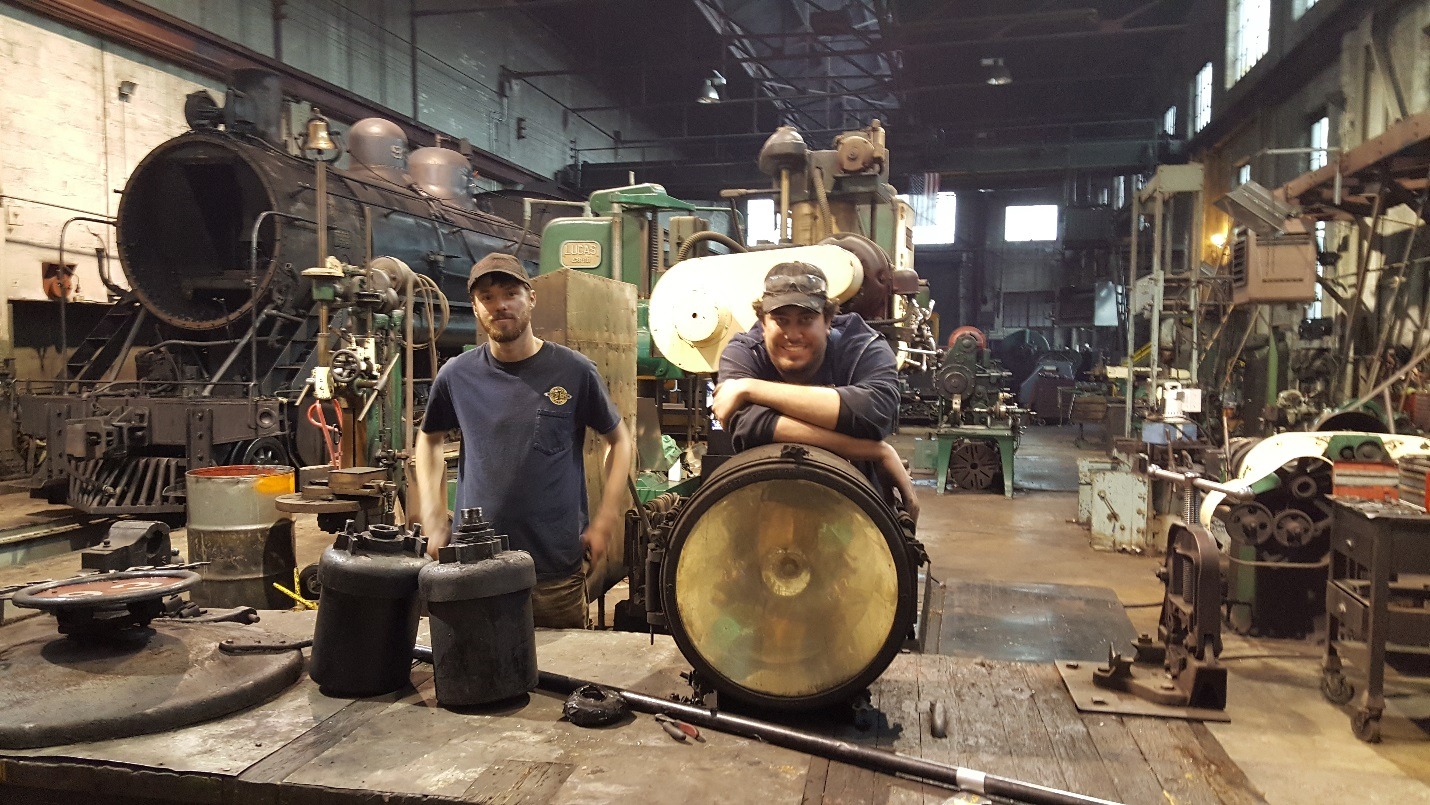 We are in it for the long, long haul.<br>Our original 1910 locomotive overhaul facility is one of the best anywhere