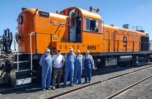Railroad Reality Week Adult Summer Camp