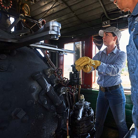 Be the Engineer of a Steam Locomotive